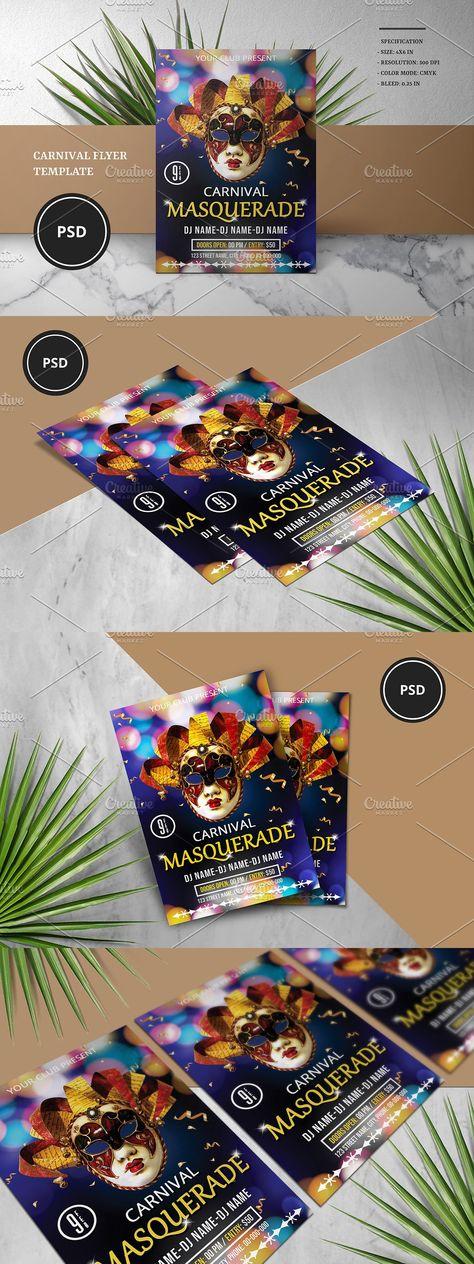 Carnival Party Flyer V950