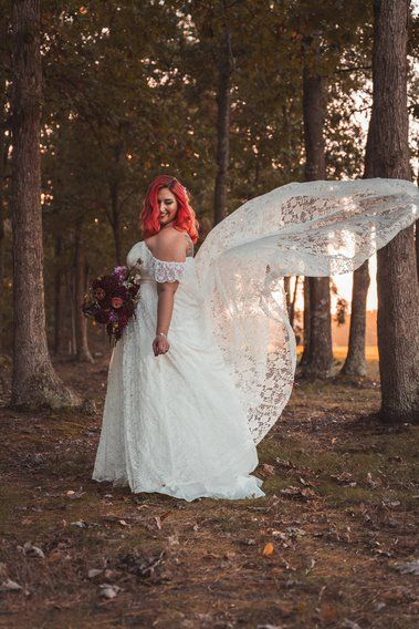 #weddingdress #bridal #bridalportrait #weddingdresstrain #thedress #weddinggown #weddingportrait #weddingpictures #weddingbouquet #bridalhair #weddinghair #weddingflowers #sunset #sunsetpictures #goldenhour #outdoorpictures #woodsywedding #ronjaworskiweddings #blueheronweddings #bohowedding #fallboho #fallwedding #octoberwedding #novemberwedding #autumn #golfcoursewedding #njwedding #njbride #lace #laceweddingdress #weddingdressphotos #weddingdressphotography P: Dawn Point Studios