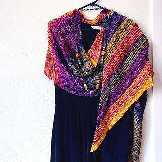 Arcana Pattern By Lesley Anne Robinson Pattern Shawl Patterns