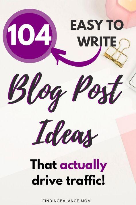 212 Blog Post Ideas That Go Viral & Make Money [UPDATED]