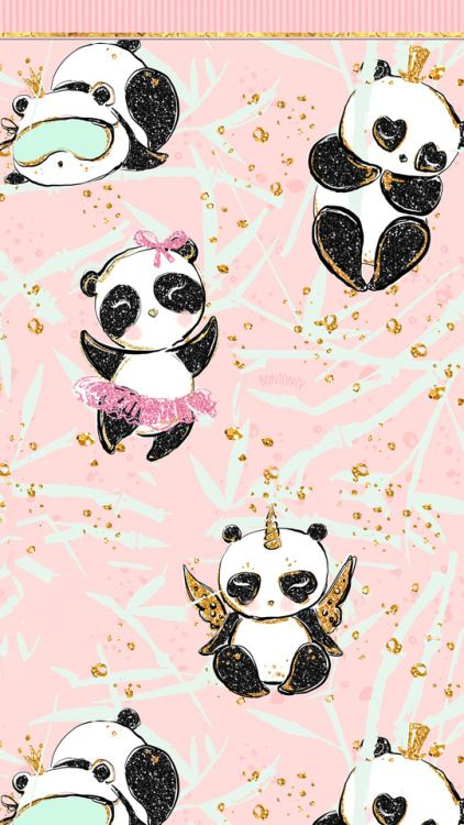 Phone Wallpapers Hd Cute Pandas Gold Aesthetic By Bonton Tv Free Backgrounds 1080x1920 Wallpapers Cute Panda Wallpaper Panda Wallpapers Hd Cute Wallpapers