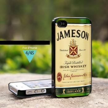 Jameson Irish Whiskey Ireland - For iPhone 4 Case, Hard Cover