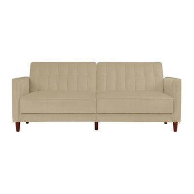 Hammondale Pin Tufted Convertible Sofa Allmodern Convertible