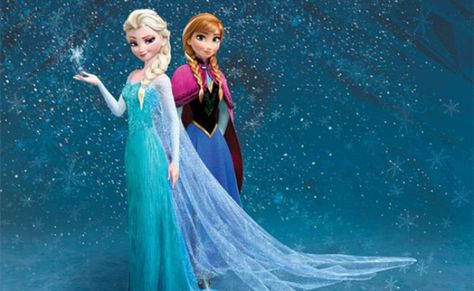 Anna & Elsa - Frozen Wallpaper