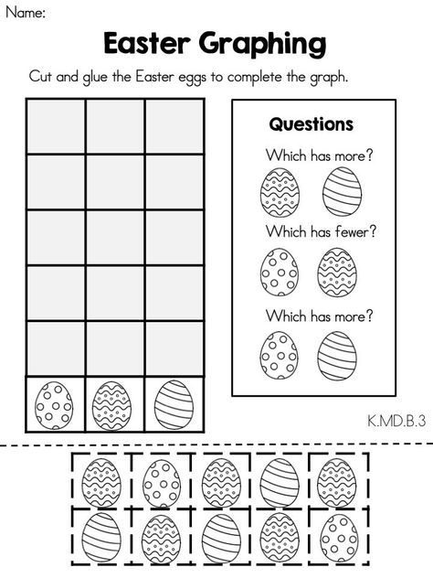 Easter Kindergarten Math Worksheets Crafts And Worksheets For Preschool Toddler And Kinde Kindergarten Easter Worksheets Easter Math Kindergarten Easter Math