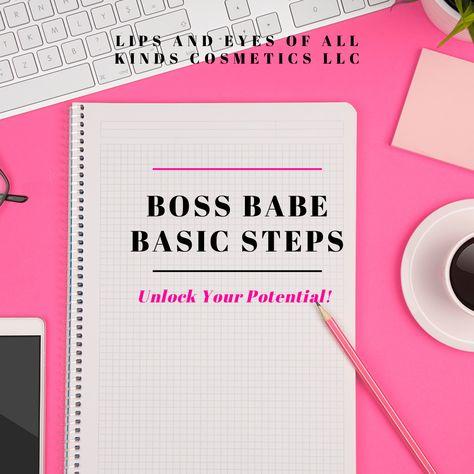 Boss Babe Basic Steps E-book (Please Read Description)