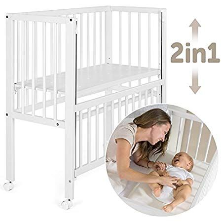 Fillikid Convertible Bedside Crib Vario 2in1 Height Adjustable