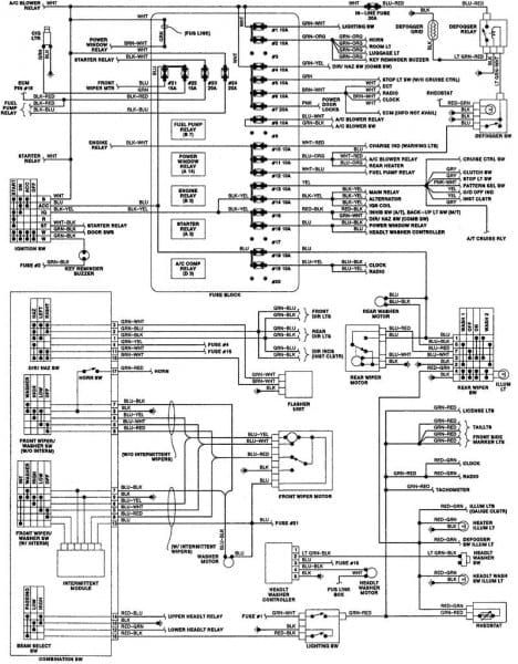 auto electrical wiring diagram hilux 2001 free  2003