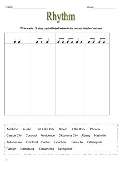 Music Theory: RHYTHM Worksheets