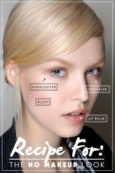 The Perfect Recipe - No-Makeup Makeup Ideas - Photos