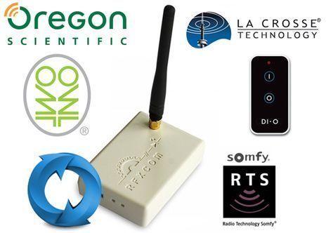 Rfxtrx 433 Mhz Rfxcom Et Methode De Mise A Jour Domotique Diy