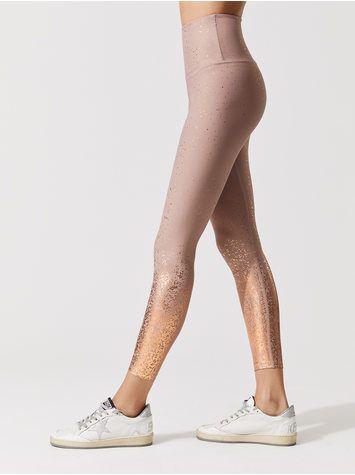db1791d38f BEYOND YOGA Alloy Ombre High Waisted Midi Legging Brazen blush rose gold  speckle 7/8 LENGTH LEGGINGS $110