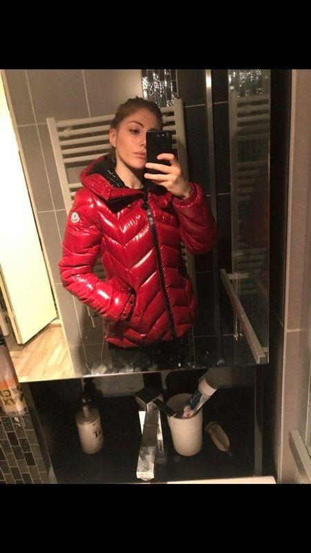 Pin on Shiny down jackets and coats