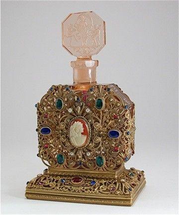 jeweled perfume bottles