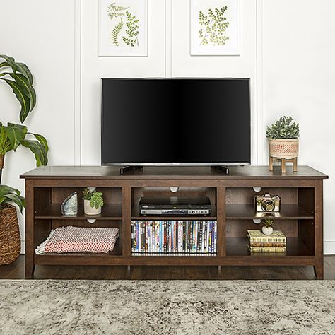 Walker Edison Furniture Co W70csptb 70 Inch Wood Media Tv Stand
