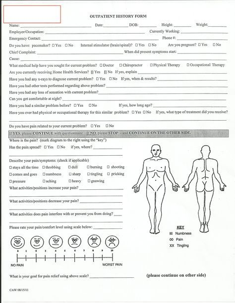 Fitness Assessment Form For Women Front By Rlt Consulting Group