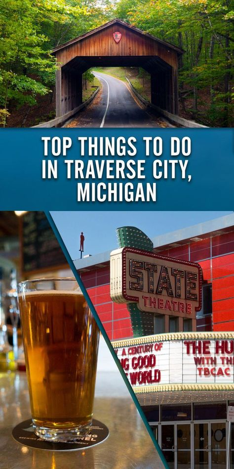 Top Things to do in Traverse City, Michigan - Thyme & Love A travel guide on the top things to do i Traverse City Michigan, Torch Lake Michigan, Traverse City Wineries, Michigan Vacations, Michigan Travel, Michigan Tourism, Fall In Michigan, Michigan Usa, Us Travel Destinations