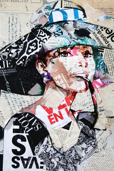Audrey Hepburn, Collage