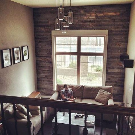 Stikwood Adhesive Wood Paneling 20 Sq Set Home Ideas Decor Panel Walls