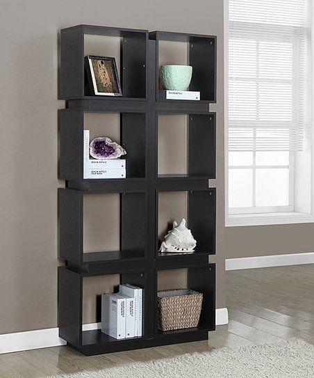 Monarch Specialties Cappuccino Bookcase Zulily Bookcase Cube Bookcase Shelves