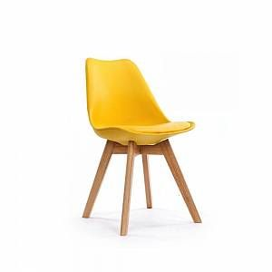Chaise Design Scandinave Pas Cher Loumi Jaune En 2020 Chaise Design Chaise Scandinave Table A Manger Extensible