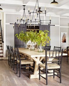 Farmhouse Dining Room Ideas Are Adorable And Lasting This Is Simple Stunning Rustic To Impress Your Dinner Guests Find More About