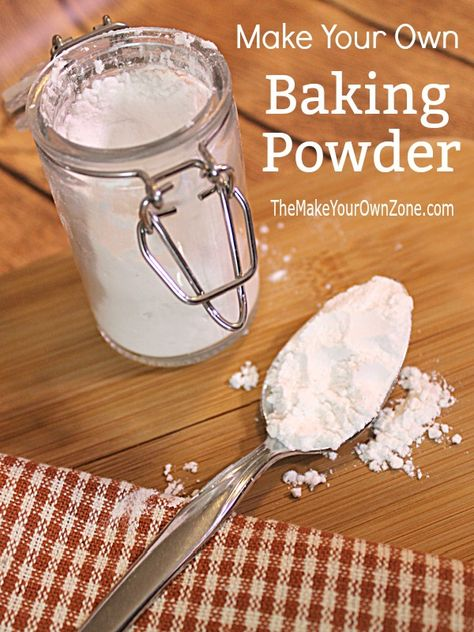 Make Your Own Baking Powder Substitute Make Your Own Baking Powder - A simple recipe to create a homemade baking powder with no aluminum sulfate. Cake Recipe No Baking Powder, Make Baking Powder, Homemade Baking Powder, Homemade Dry Mixes, Homemade Spices, Homemade Seasonings, Substitute Baking Powder, Baking Powder Biscuits, Baking Tips