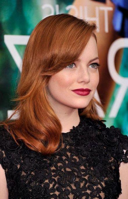 Hair Ombre Copper Emma Stone 33 Ideas For 2019 Copper Hair Color Ombre Hair Hair Inspiration Color