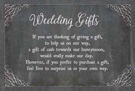 New Wedding Gifts Cash Request Ideas Wedding Gifts Wedding