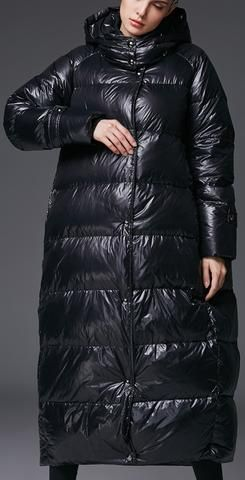 Long Jacke In Oversized Black 2019Mantel Puffer Coat f6Yg7yIbv