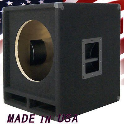 1x15 Empty Low Frequency Sub Bass Speaker Cabinet Us Made B115 500e Ebay Speaker Box Design Speaker Design Woofer Speaker