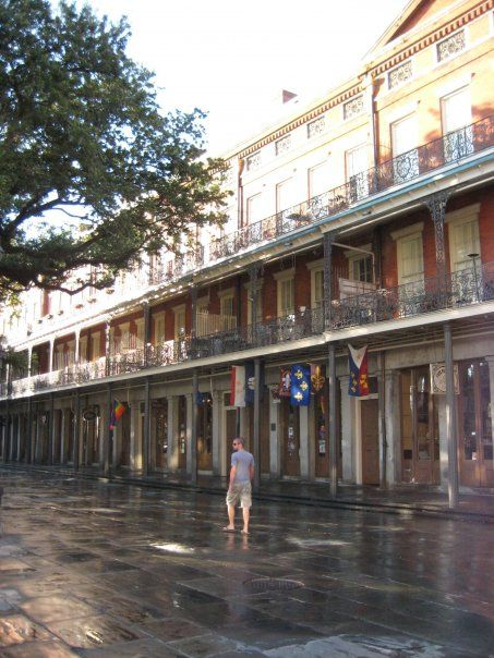 Morning By The Upper Pontalba Apartments New Orleans