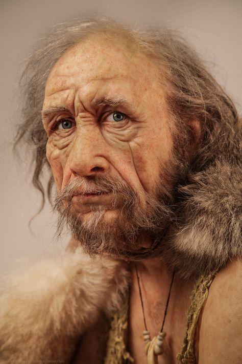Lascaux III is a Cro-Magnon man by Élisabeth Daynès | Cro