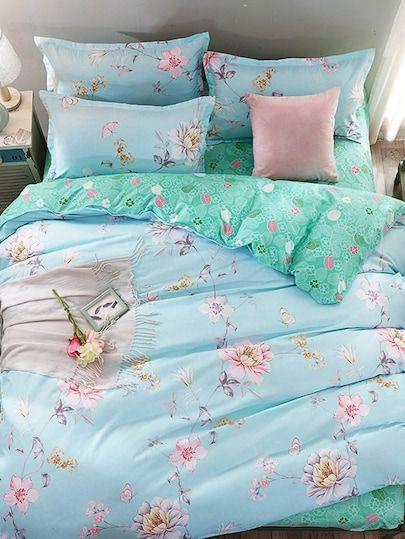 37++ Flower print duvet cover set trends