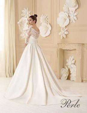 Vestiti Da Sposa Di Raso.P7706 Abiti Da Sposa Abiti Da Sposa E Acconciature Abiti Da