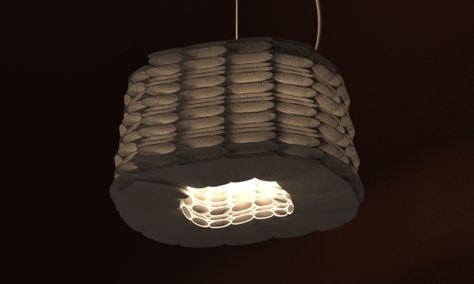 3d Printed Lamp Shade By Studioluminaire Light Fixtures Pendant Light Lamp Shades