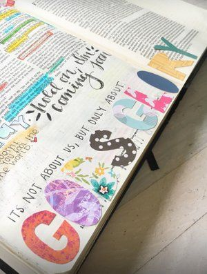 Online Bible Journaling Class | Bible journal art