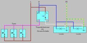Taster Schaltung Elektroinstallation Haus Elektroinstallation Elektroinstallation Selber Machen
