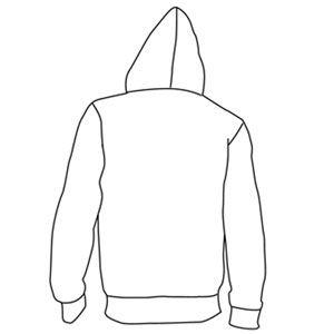 Desain Jaket Polos Belakang Jaket Desain Gambar