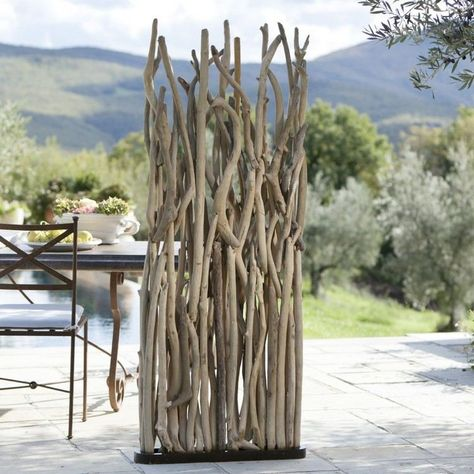 Le bois flotté s\'empare du mobilier et de la décoration ...