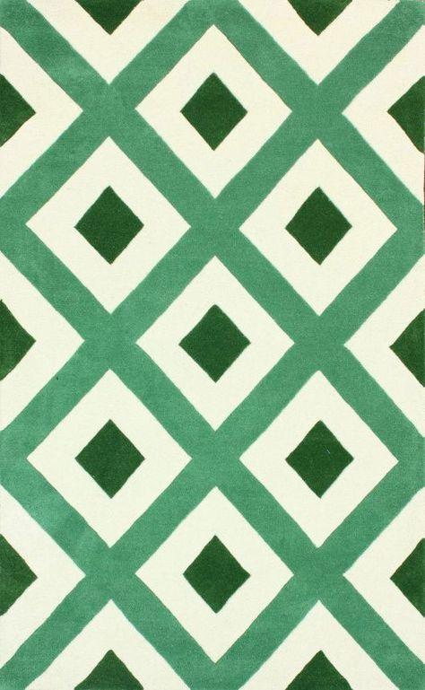 Green geometric pattern pinned by Anika Schmitt