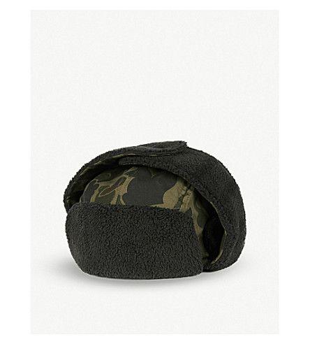 New Era Utility Trapper Hat Black