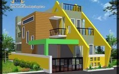 Low Budget Indian Home Design Ideas Using Entrance Door Uk And House Paint Vs Solid Color Stain House Roof Design 2 Storey House Design Minimalist House Design