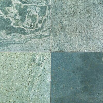 Stone Tile Shoppe Inc Green Shine Polished 12x12 Slate Field Tile Wayfair In 2020 Slate Tile Stone Tiles Elegant Tiles