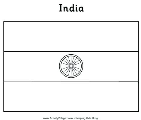 Indian Flag Coloring Page Flag Coloring Page Indian National Flag Coloring Pages India Flag Flag Coloring Pages Flag Printable