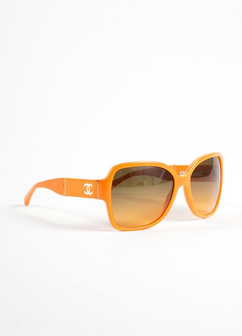 61a998b247256 Orange Plastic and Patent Leather