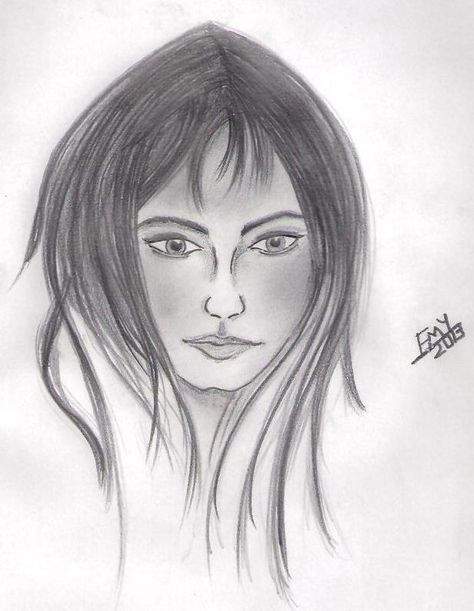 صور رسومات انمي كارتون بالرصاص علي الورق موقع حصري Cartoon Pencil Drawing Drawings Female Sketch