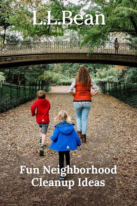 Neighborhood cleanup is something you can do with the whole family, and it has an immediate impact you can see right away. Here are a few ideas to make it fun, too!