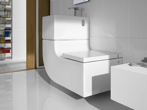 Roca W W Eco Friendly Toilet Sink Toilet Combo Contemporary