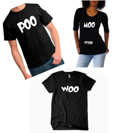 One with moo and one with poo would be kinda fun